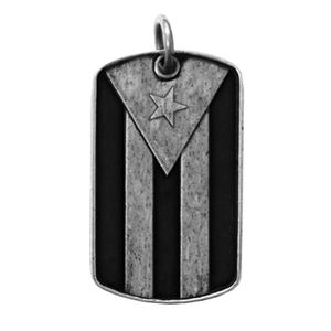Picture of Puerto Rican Flag Dog Tag